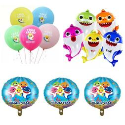 Baby Shark balloons baby shark party decorations mommy-daddy