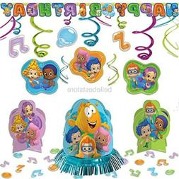Bubble Guppies Childrens Birthday Party Pack Decoration Kit