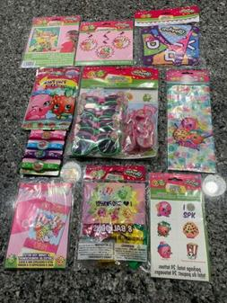 Shopkins Birthday Party Favors Decorations