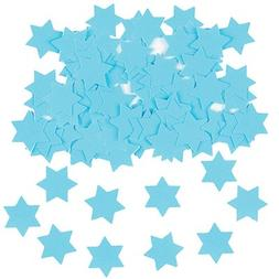 Blue Star of David - Magen David Confetti, Hebrew, Jewish De