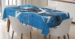 bowling party tablecloth 3 sizes rectangular table