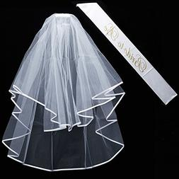 qnprt Bride to be Decoration Set for Bachelorette Party Supp