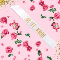 Bride To Be Sash Bachelorette Party Sashes For Wedding Party