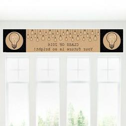 bright future graduation party decorations party banner