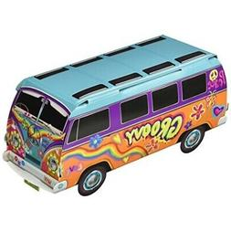 "Beistle 57326 3-D 60's Bus Centerpiece, 9.75"", Multicolore"