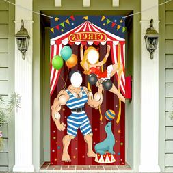 Carnival Circus Party Decoration Carnival Photo Door Banner