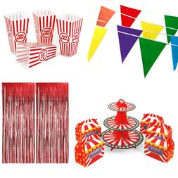 Carnival Circus Theme Birthday Party Decorations Favors Gift