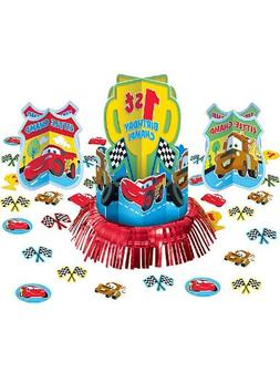 cars birthday table decorating kit
