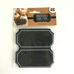 Chalkboard Paper Tent Card Placecards
