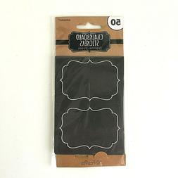 chalkboard stickers party decoration