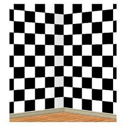 Checkered Backdrop Party Accessory