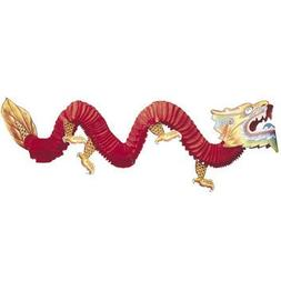 Otc Chinese Tissue Dragon Decoration