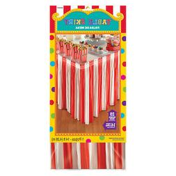 CIRCUS CARNIVAL Big Top Party Decoration RED WHITE Stripe ST