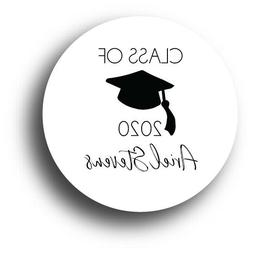 Class of 2020 Graduation Personalized Party Favor Sticker