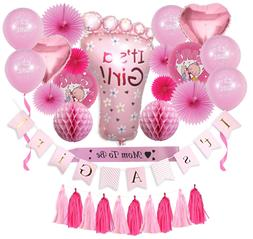 Complete Premium 31 PCS Baby Shower Decorations for Girls P