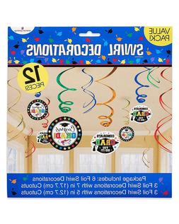 American Greetings Congrats Grad Hanging Party Decorations,