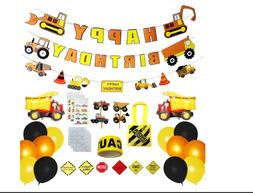 Construction Birthday Party Supplies,Birthday Decorations fo