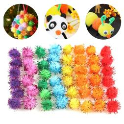 Craft Supplies Glitter Plush Ball Party Decorations Toys Acc