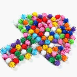 Craft Supplies Glitter Plush Ball Toys Accessaries Party Dec