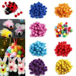 Craft Supplies Hair Root Party Decorations Glitter Plush Bal