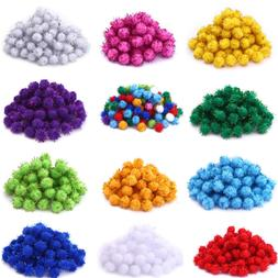 Craft Supplies Party Decorations Glitter Plush Ball Toys Acc