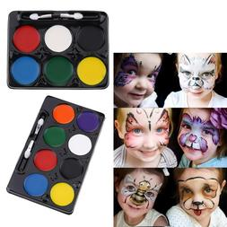 Creative Body Face Watercolor Paints for Kid DIY Birthday <f