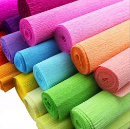 DIY Crepe Paper Streamer Roll Wedding Birthday Party Supplie