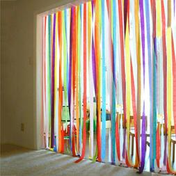 Crepe Streamers Party Decoration Supplies Kids Birthday Back