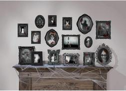 DARK MANOR Wall Frame Cutouts Halloween Party Decoration Gho