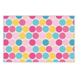 DB Party Studio 25 Pack Paper Place Mats Baby Shower Sprinkl