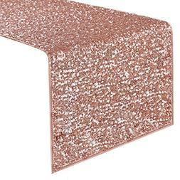 PONY DANCE Sequins Table Runner - Decorative Sparkling Table