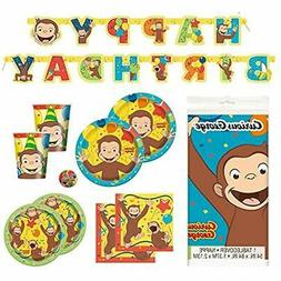 Deluxe Party Packs Children's Birthday Supplies With Decorat