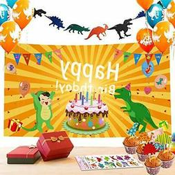 Dinosaur Party Decorations-52pack Dinosaur Party Supplies fo