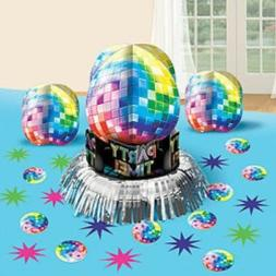 Disco 1970 70's  Boogie Party Table  Decorating Kit Birthday