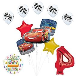 Mayflower Products Disney Cars 3 Lightning McQueen 4th Birth