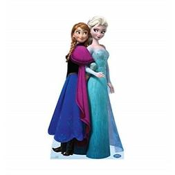Disney Frozen Elsa And Anna Lifesized Standup