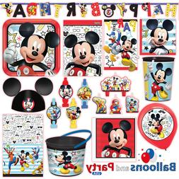 Disney Mickey Mouse On The Go Birthday Party Tableware Decor