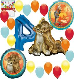 Disney The Lion King 4th Birthday Party Supplies Balloon Dec