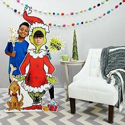 Dr Seuss Party Room Decorations - The Grinch Life Size Cardb