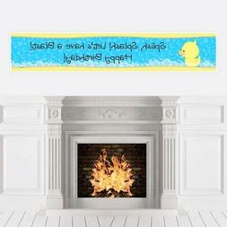 Ducky Duck - Birthday Party Decorations Party Banner