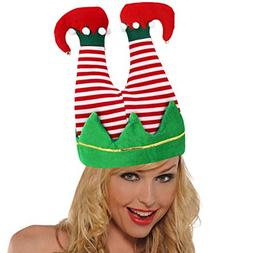 Elf Santa Hat Novelty Pants Christmas Party Hats Hat for Adu