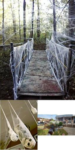 Moon Boat Fake Spider Halloween Party Decorations Props cree