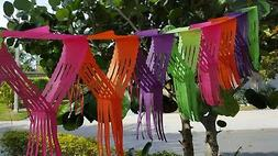 FIESTA 12' feet BRIGHT COLOR FRINGE GARLAND Banner Party Dec