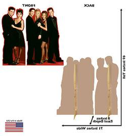 Friends 2-Pack Standees Lifesize Party Decor Cardboard Cutou