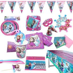 Disney Frozen Anna and Elsa Princess Birthday <font><b>Party