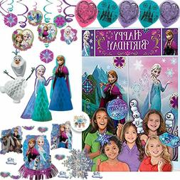 Frozen Birthday Party Decorations Pack With Table Decorating