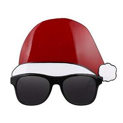 SaveStore Funny Christmas Cap Glasses Fancy Dress Christmas