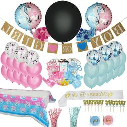 Gender Reveal Party Supplies, Baby Shower Boy or Girl Reveal
