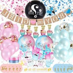 Gender REVEAL Party Supplies, Baby Shower Boy or Girl Decora