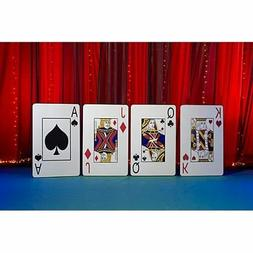 Giant Playing Card Cutout Party Props by Shindigz